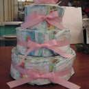How to Make a Diaper Cake -- Without the Chocolate Filling