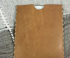 Rustic Leather iPad Cover