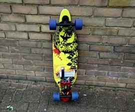 Electric Skateboard with in-wheel motors