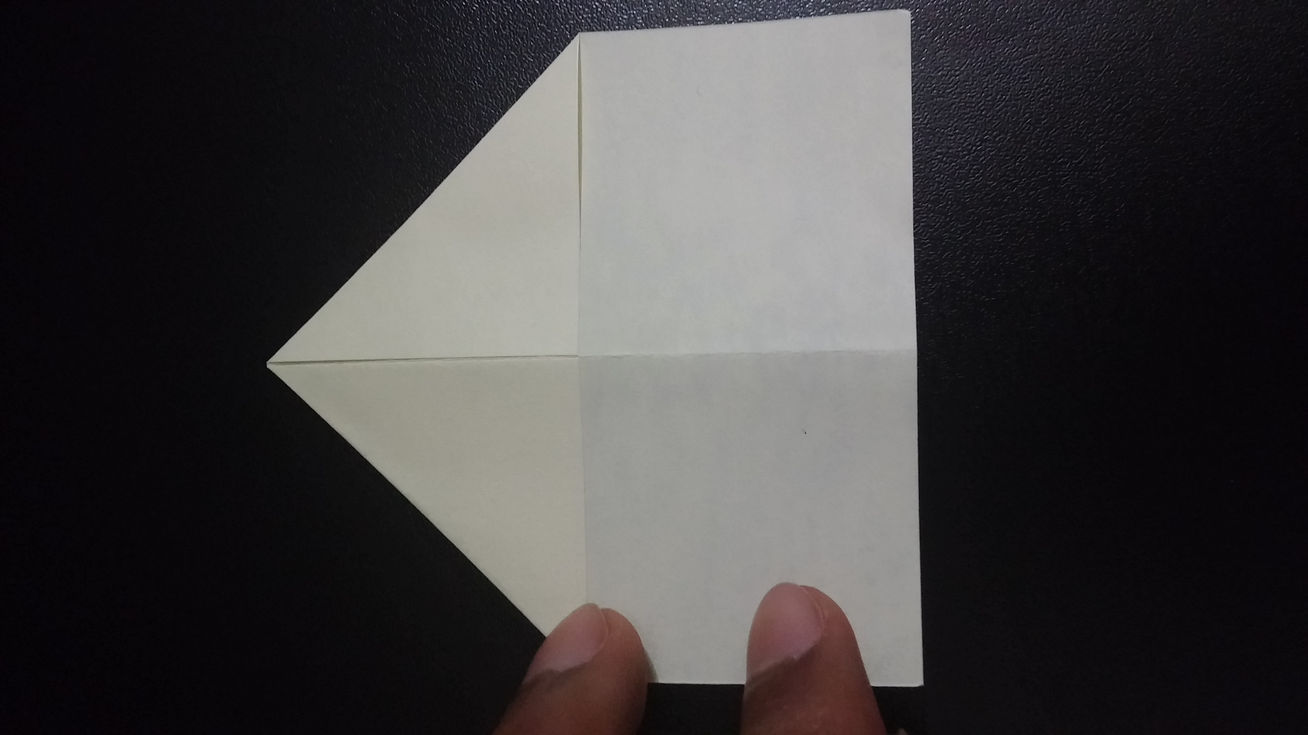 Picture of Fold the Top Corners in to the Center