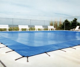 How to Install Winter Pool Covers