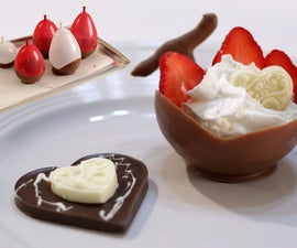 Chocolate Bowls from Balloons