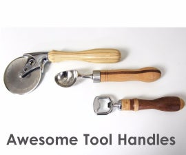 Making Awesome Tool Handles on the Lathe