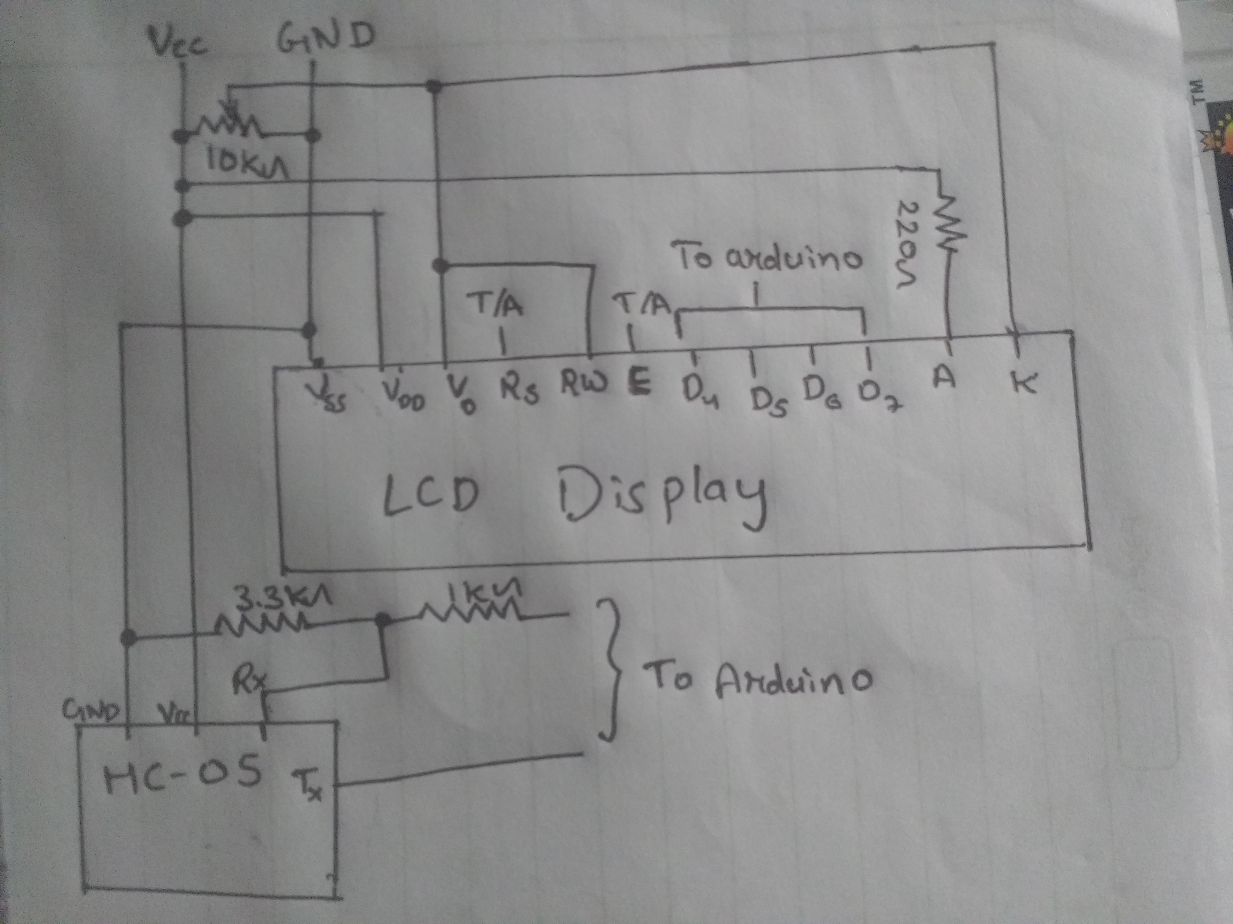 Picture of Main Circuitry and Servo Mechanism