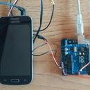 IOT Door Opener - With Old Smartphone and Headphones