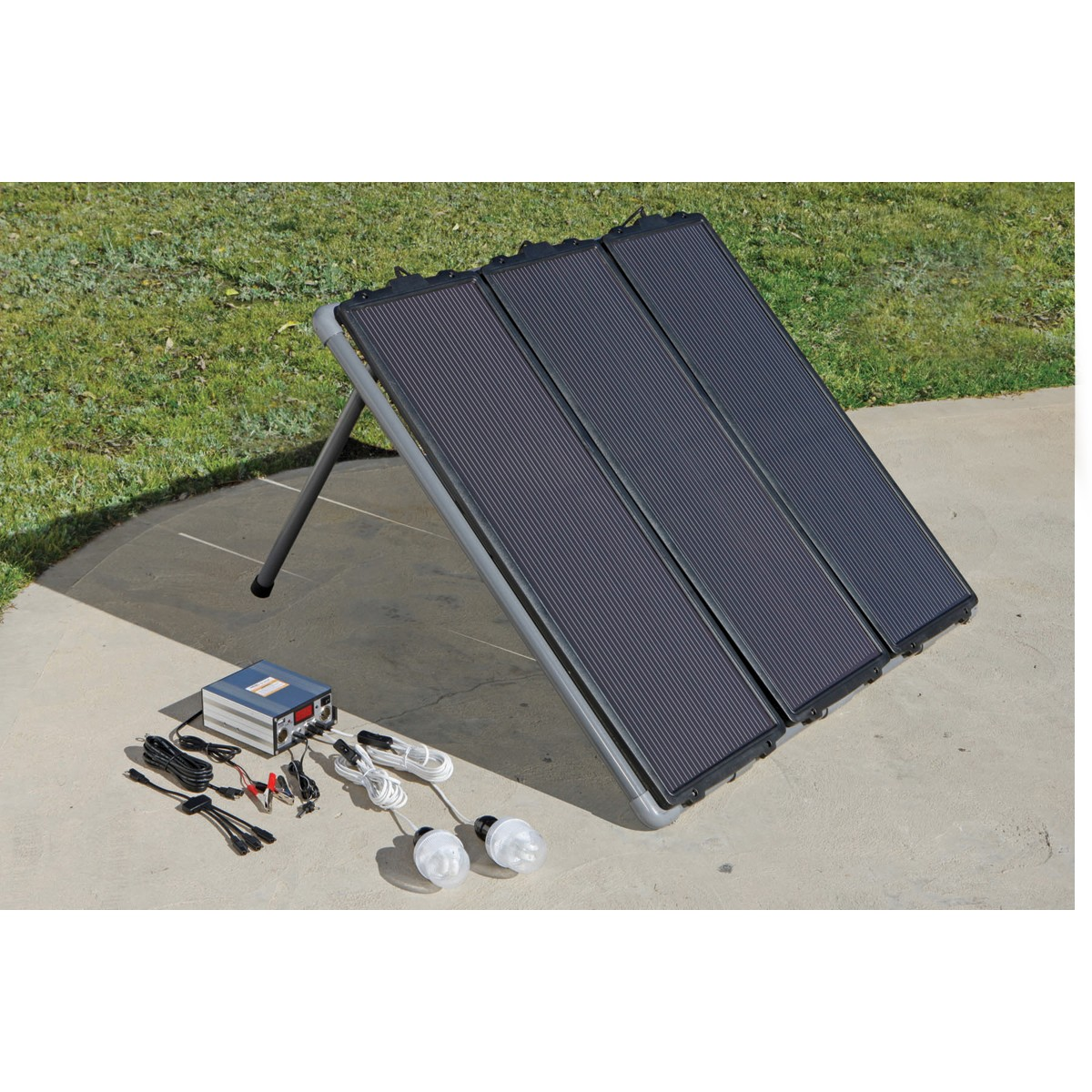 Picture of Assembling My Harbor Freight 45 Watt Solar Panel Kit - No Tools Needed!