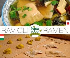 RAVIOLI-RAMEN (veg) Italy Meets Japan