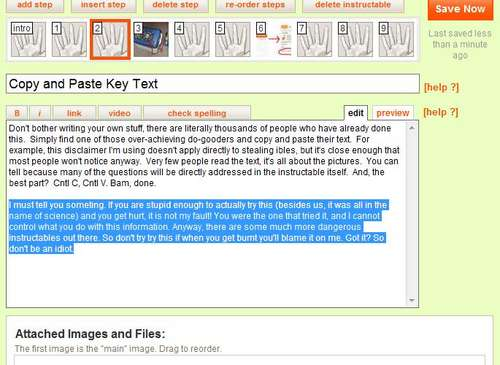 Picture of Copy and Paste Key Text