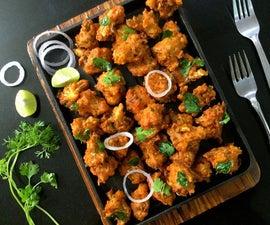 Vegan and Gluten-Free Spicy Gobi Kurkuri/Fries