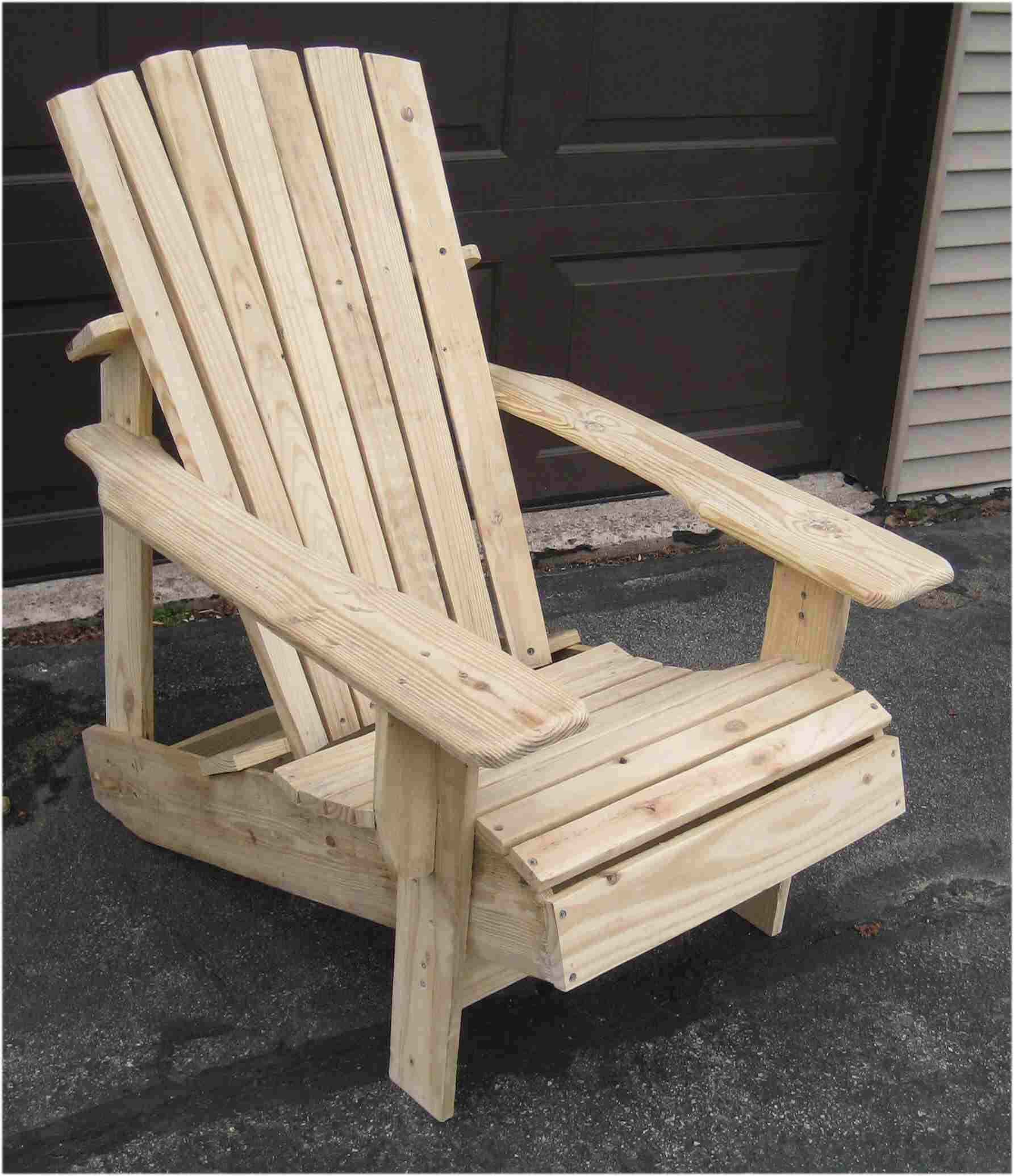 Picture of Pallet Adirondack Chair