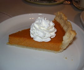 Scratch Pumpkin Pie