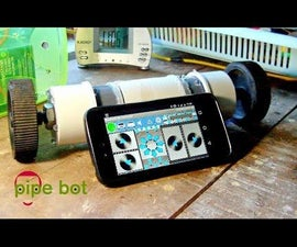 Pipe Bot - a Smart Arduino Bluetooth Robot