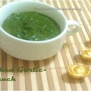 Mashed Garlic Spinach