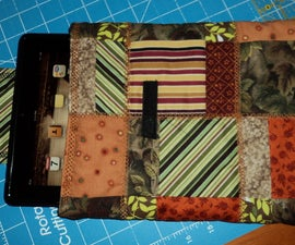 Quilting an iPad Case