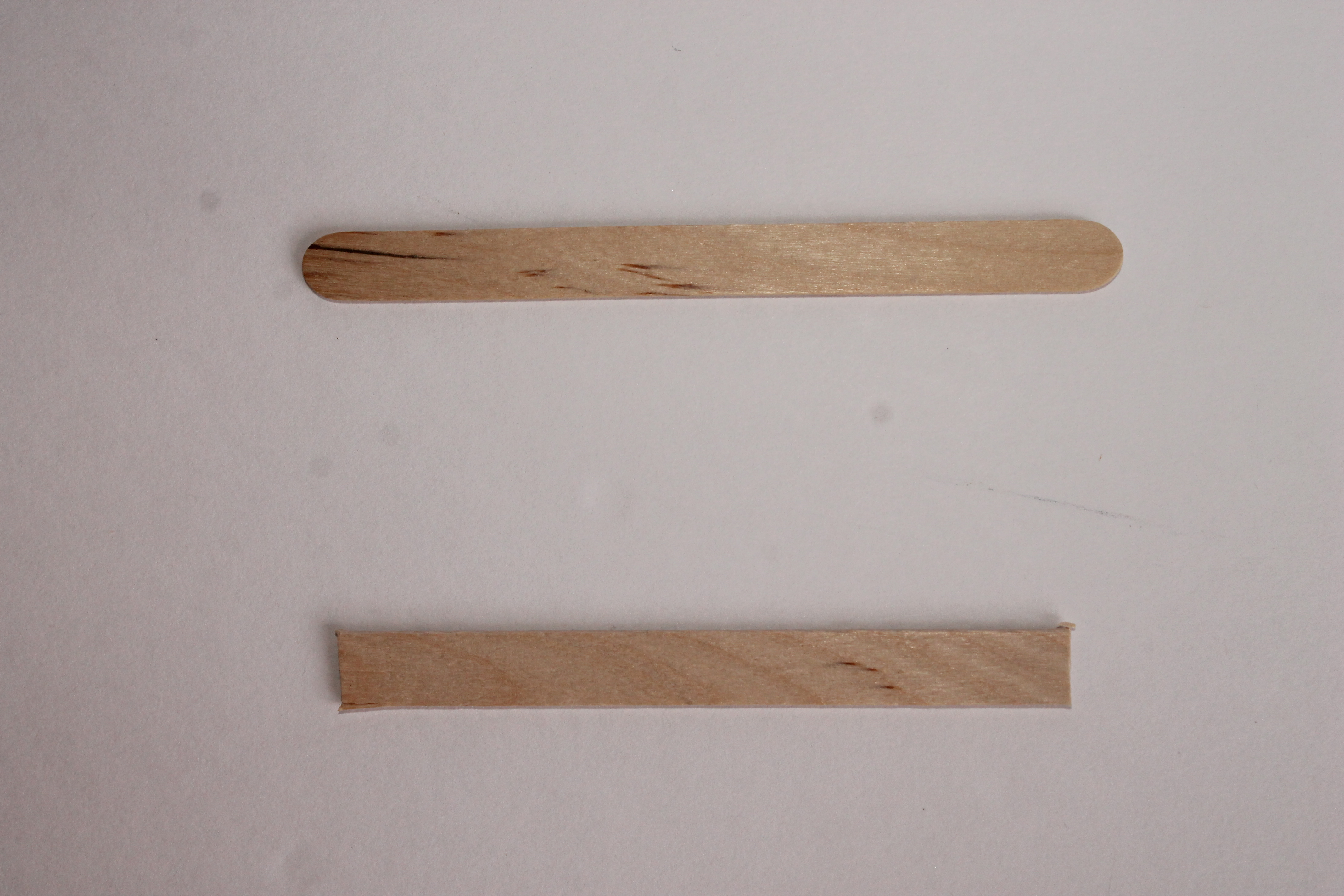 Picture of Cut the Popsicle Sticks