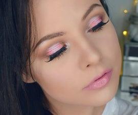 Pink Spring Glam Makeup Look
