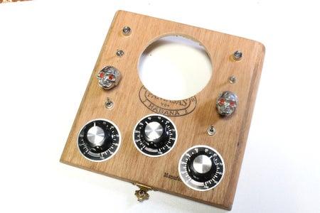 Speaker and LED's