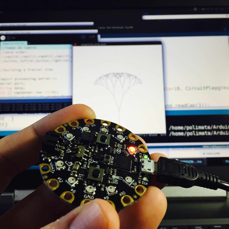 Picture of Kit Ciencia Y Arte: Conexión a Processing (Avanzado)