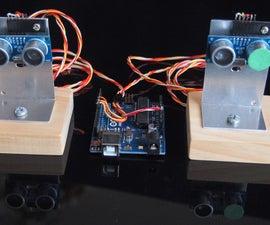 Dual Sensor Echo Locator