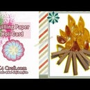 How to Make Paper Quilling Holika Dahan Card