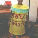 """Toxic Waste"" Halloween Costume!"