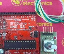 Tutorial of Rotary Encoder With Arduino