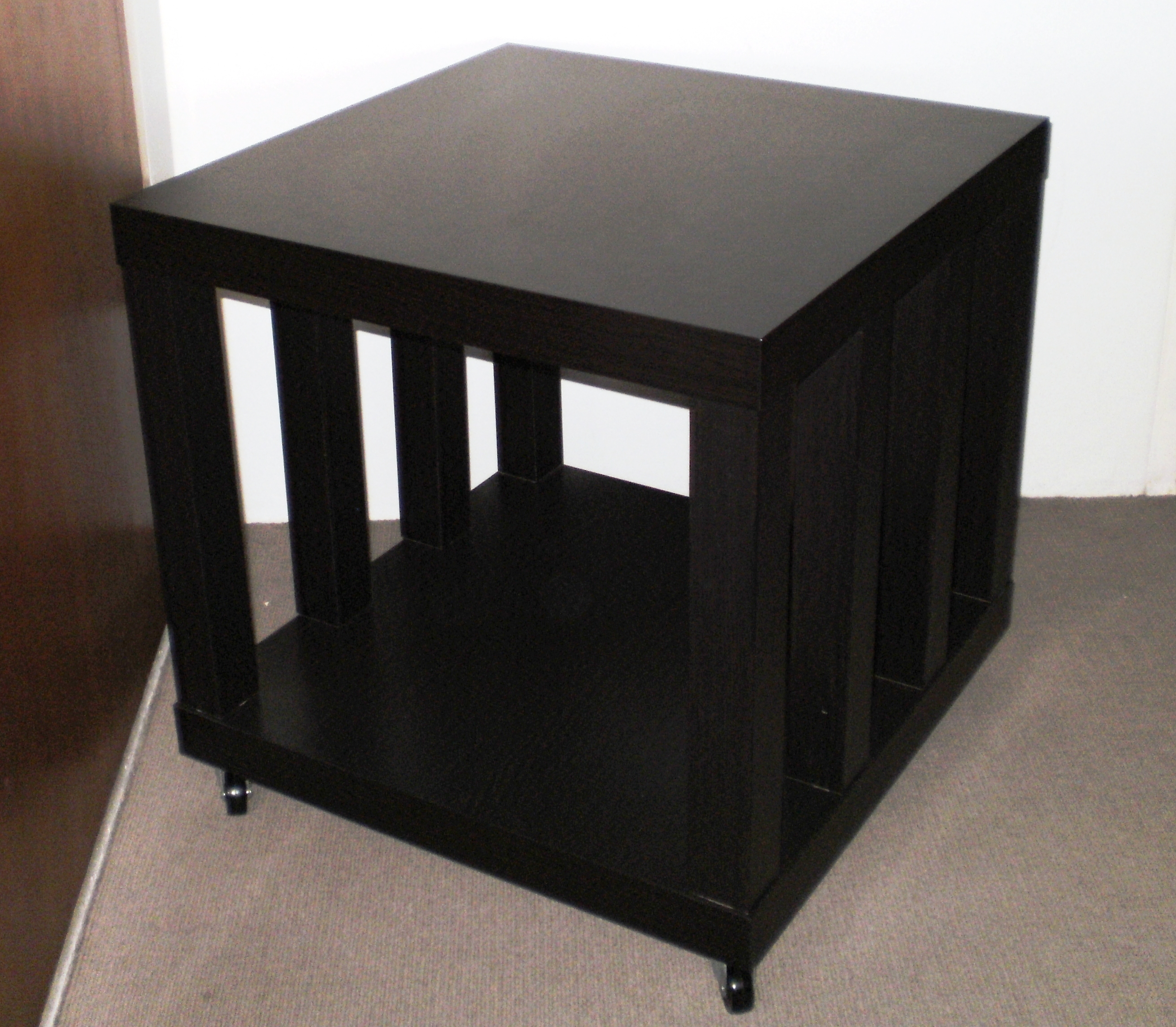 Picture Of Ikea Hack: Rolling Storage Lack Coffee/Side Table