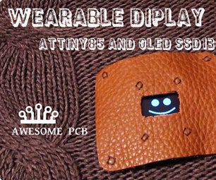 How to Make Wearable Display