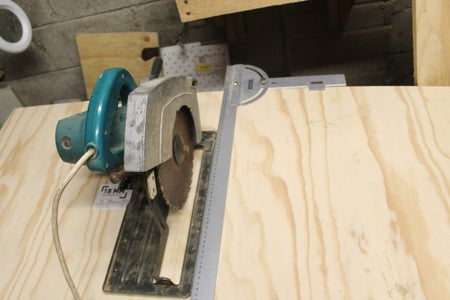 Mounting the Saw