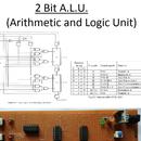 2-Bit Arithmetic and Logic Unit