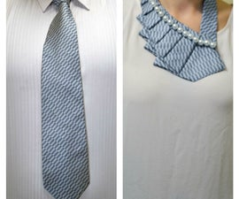 A new twist on the old necktie!