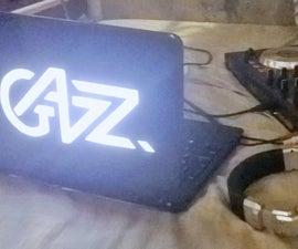 Laptop lid mod V2