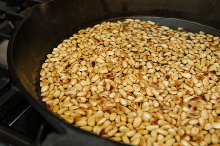 Cover Pine Nuts in Extra Virgin Olive Oil