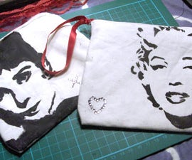 Pin-Up Girl Make-Up Bags