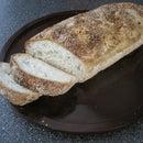 Gluten Free Baguette W/ Garlic + Rosemary