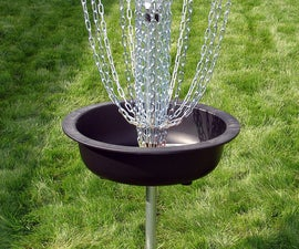 Hardware Disc Golf Basket