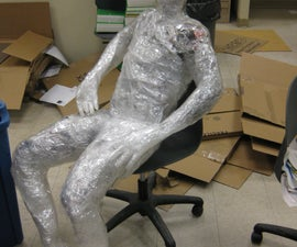 How to Make a Human Tape Sculpture