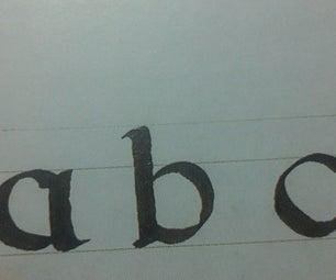 DIY Calligraphy Pens