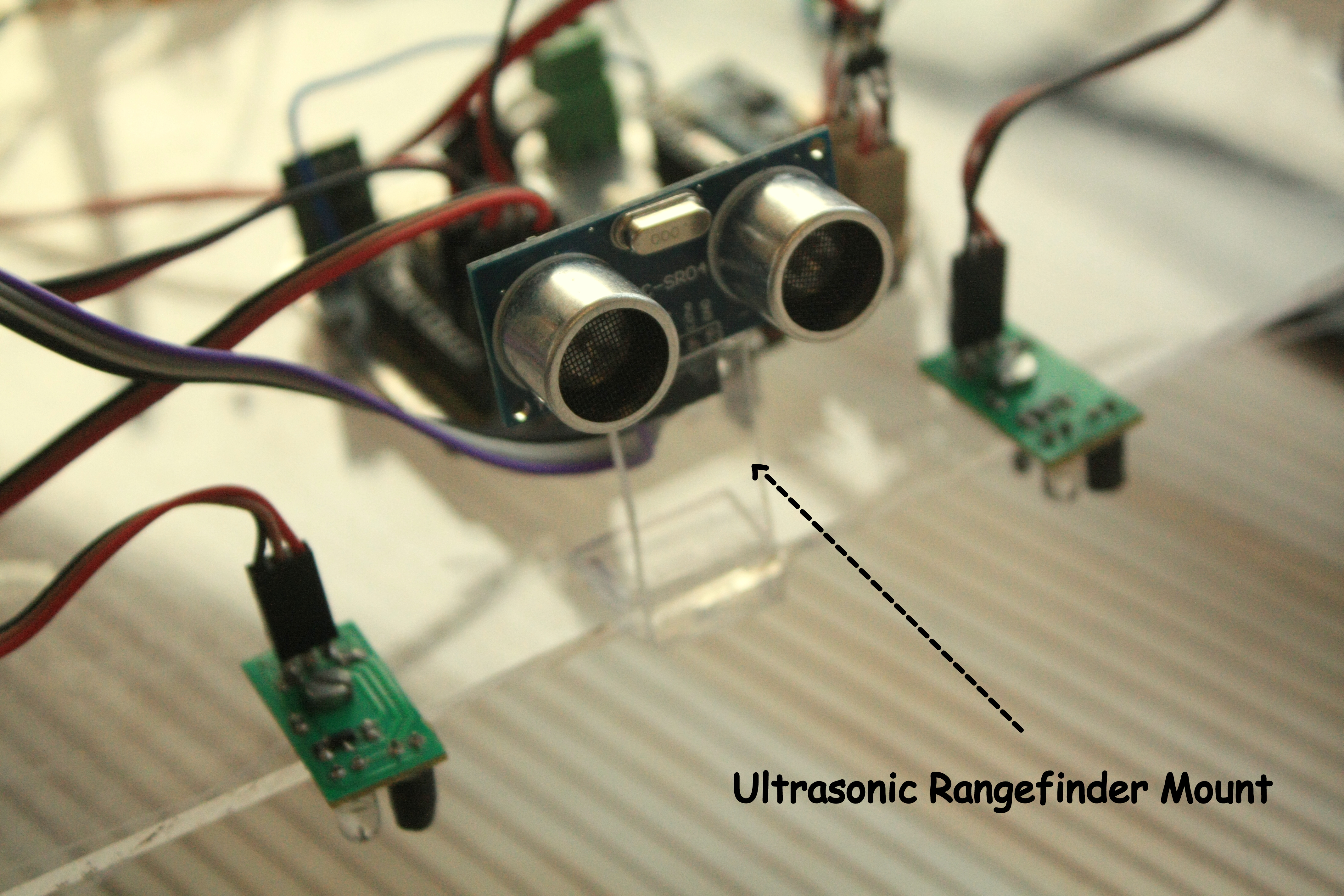 Picture of ATTACHING SENSORS AND FINAL BODY