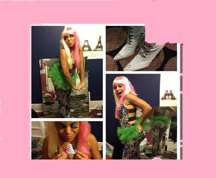 Picture of Nicki Minaj Costume!