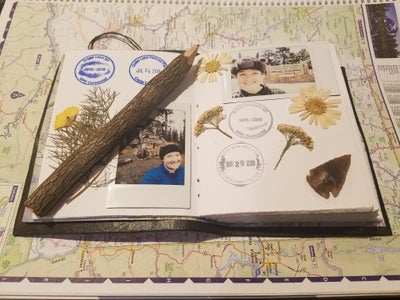Leather National Parks Passport Stamp Journal