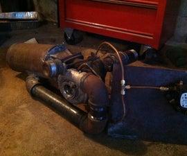 Homemade Turbojet Engine