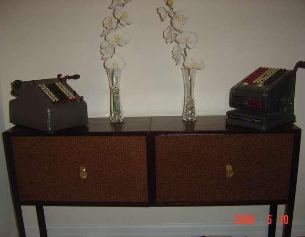Picture of Vintage Speaker Storage Unit