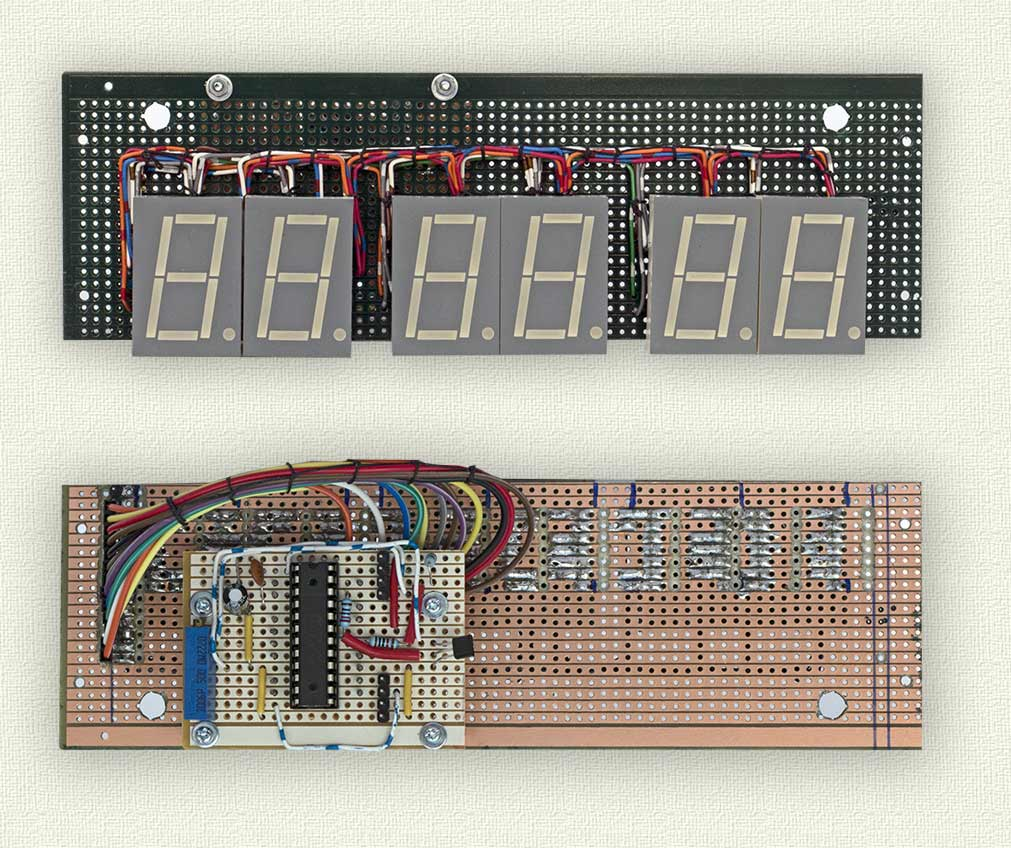 Picture of Construction- Displays, Controls and Sensors