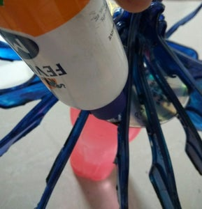 Tie Up All the Hangers With Wire and Make CD Adjustment for Bulb Holder.