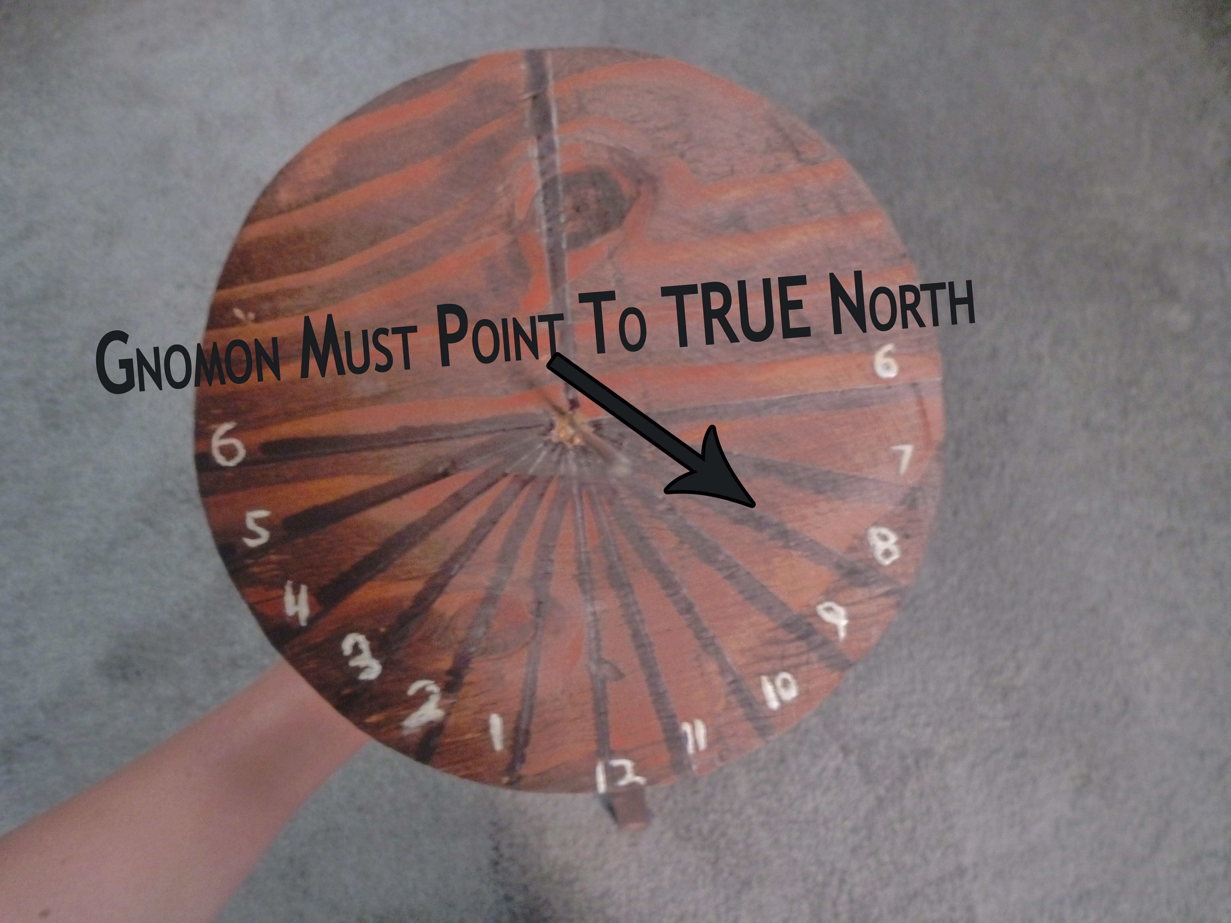 Picture of Place Sundial