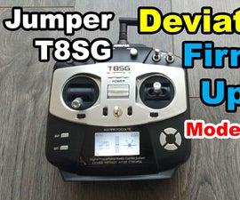Jumper T8SG DeviationTX Firmware Upgrade
