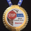 Inexpensive DIY Medal Made From Gum Container
