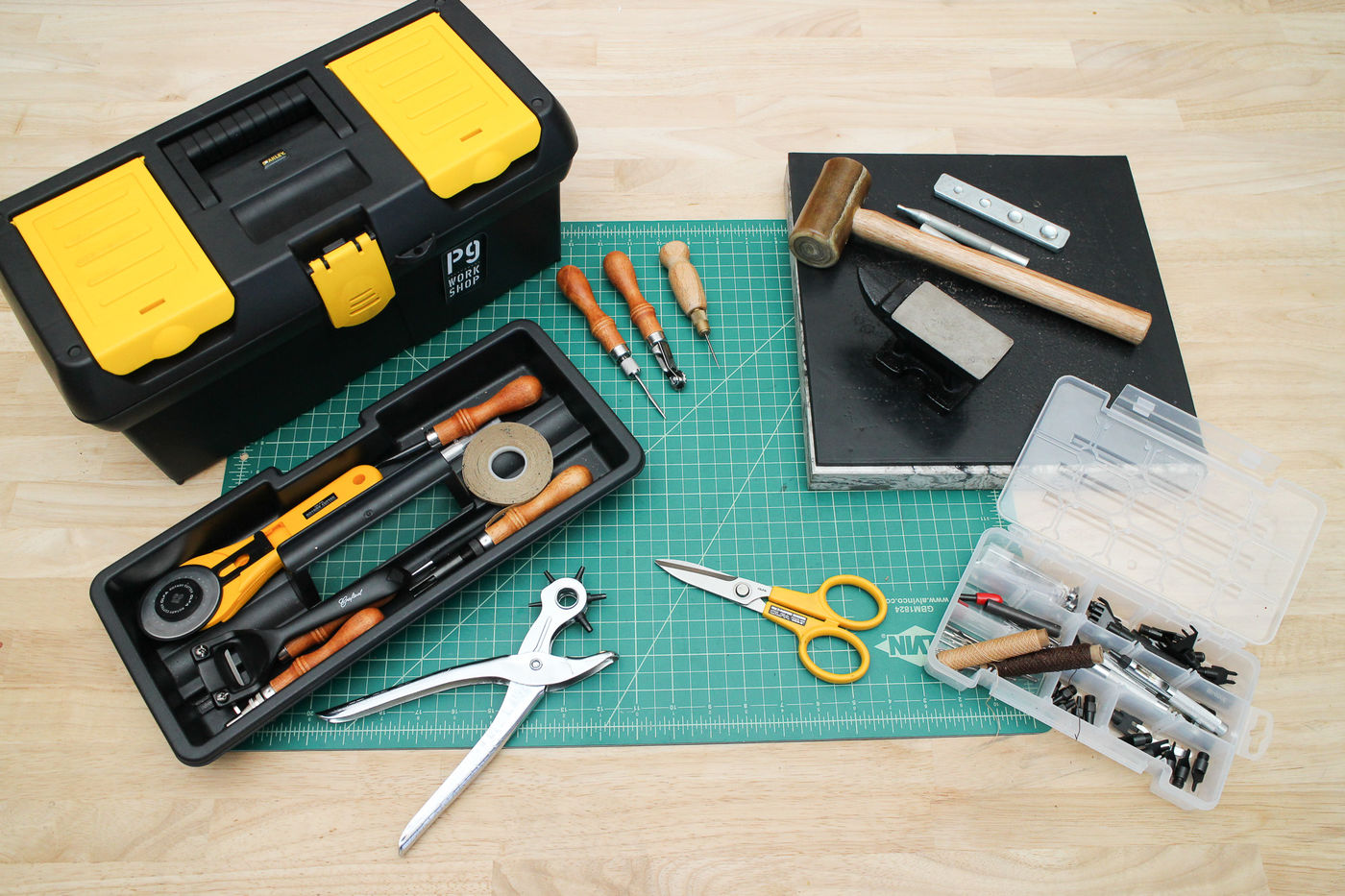 Setting Up a Leather Workstation