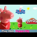 Play Doh Peppa Pig - How to Make Peppa Pig With Playdough